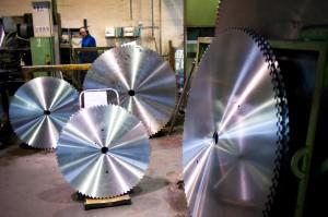 RBD Chaland, fabrication de lames de scies circulaires.